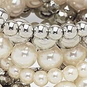 Alternate View Pearl Detail Bracelet Set