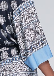 Detail back view Kimono Sleeve Romper