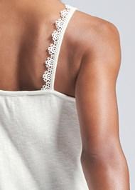 Detail back view Crochet Detail Tank