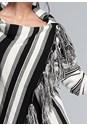 Alternate View Striped Poncho