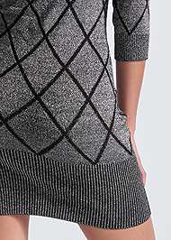 Alternate View Turtleneck Sweater Dress