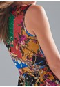 Detail back view Printed Jumpsuit