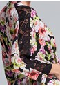 Alternate View Floral Print Robe