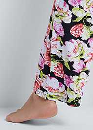 Alternate View Floral Print Sleep Pant Set