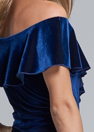 Alternate View Off Shoulder Ruffle Dress