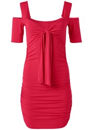Alternate View Cold Shoulder Mini Dress