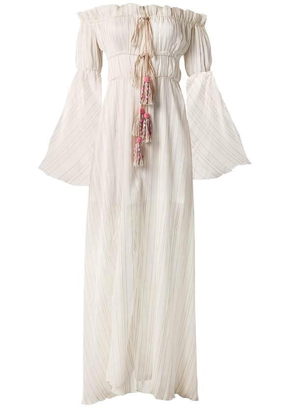 Alternate View Off Shoulder Maxi Dress