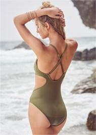 Back View Twisted Monokini