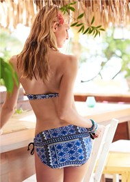 Back View Poolside Bandeau Top