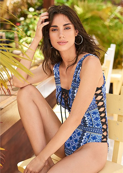 Poolside One-Piece