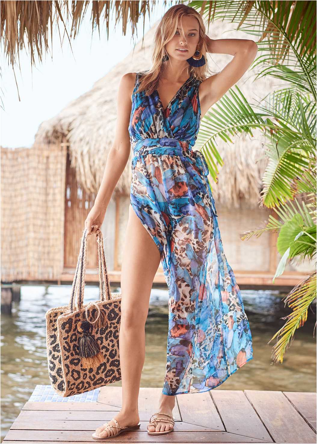 Flowy Jumpsuit Cover-Up