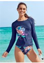 Front View Long Sleeve Rash Guard