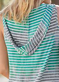 Alternate View Hooded Pocket Cover-Up