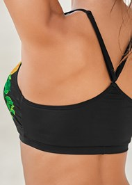Alternate View Lace Up Grommet Racerback Top