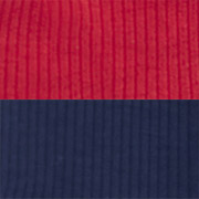 Navy & Red Ribbed (NDR)
