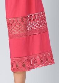 Alternate View Crochet Trim Jumpsuit