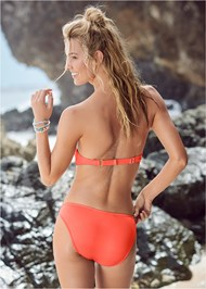 Back View Scoop Front Classic Bikini Bottom
