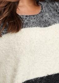 Alternate View Striped Cozy Sweater