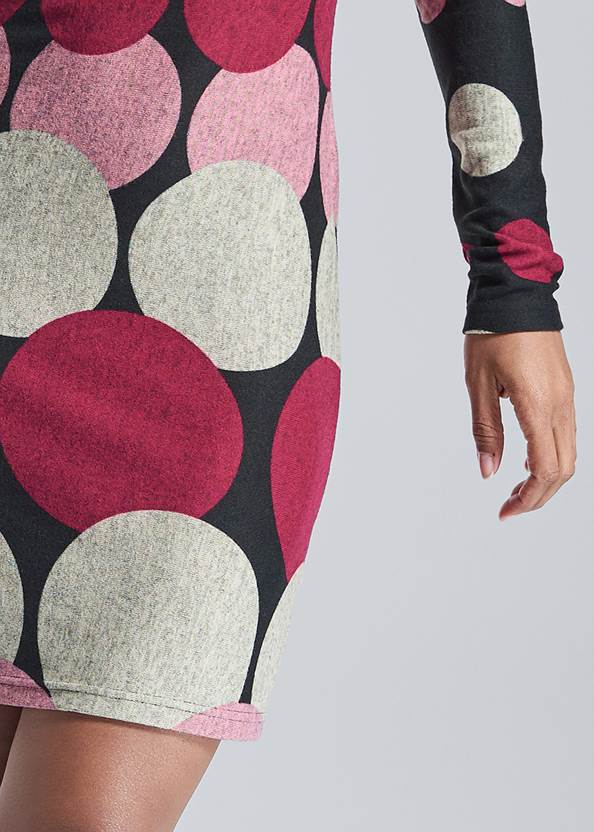 Alternate View Abstract Sweater Dress