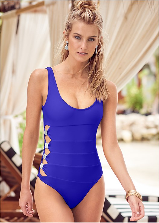 PEEK-A-BOO ONE-PIECE