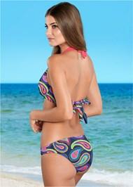 Back View Low Rise Bikini Bottom