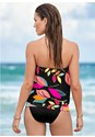 Back View Blouson Tankini Top