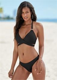 Front View Wrap Bikini Top