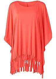 Alternate View Fringe Detail Cover-Up