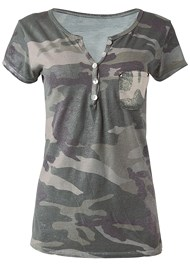 Alternate View Camo Pocket Top