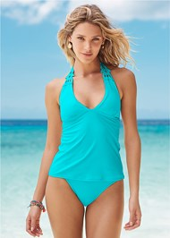 Front View Applique Tankini