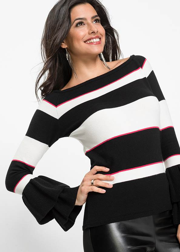 Detail  view Striped Sweater