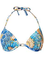 Alternate View Bejeweled Push Up Halter Top