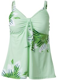 Alternate View Printed Tankini