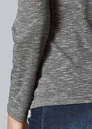 Alternate View Cold Shoulder Casual Top
