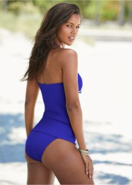 Back View Julie Halter Tankini