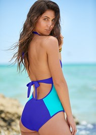 Cropped back view Riley One-Piece