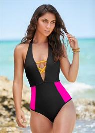 Cropped front view Riley One-Piece