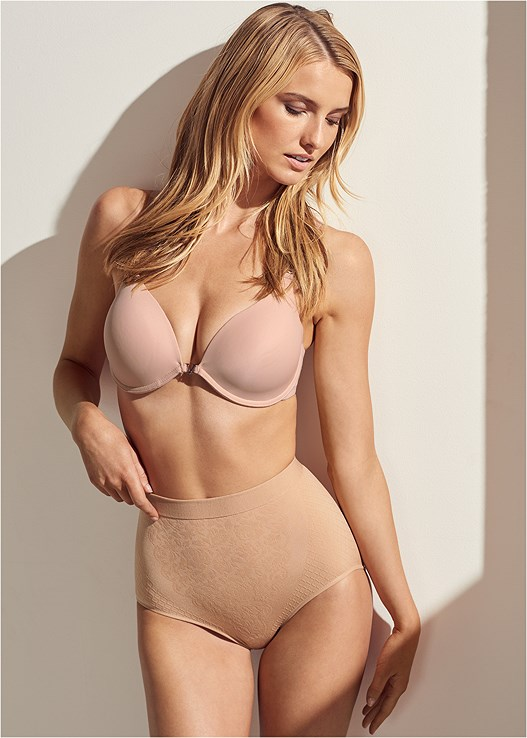 3PK SHAPING BRIEF,PUSH UP BRA BUY 2 FOR $40
