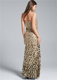 Alternate View Sequin Embellished Dress