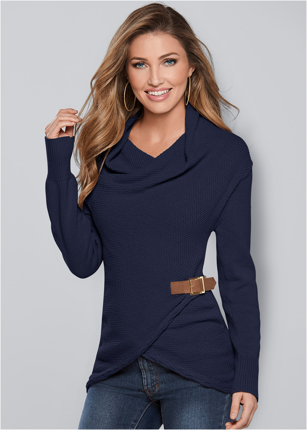 Side Buckle Detail Sweater,Sweater Buckle Bootie,Sweater Trim Boot