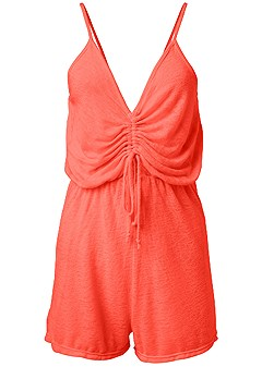 plus size romper cover-up