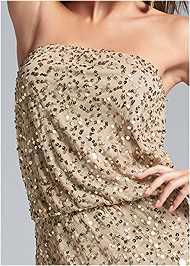 Alternate View Sequin Embellished Dress