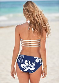 Back View Strappy Bandeau Top