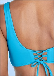 Alternate View Lovely Lift Wrap Bikini Top
