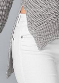 Alternate View Side Slit Sweater