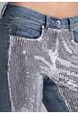 Alternate View Sequin Jeans