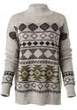 Alternate View Aztec Printed Sweater