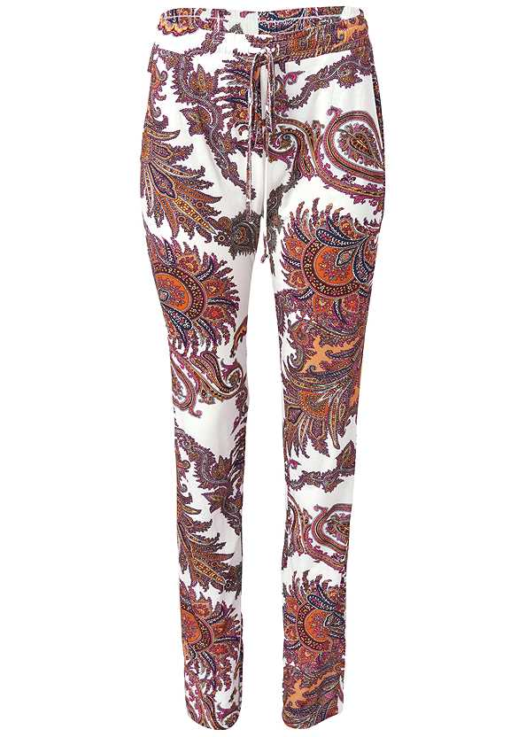 Paisley Printed Pants