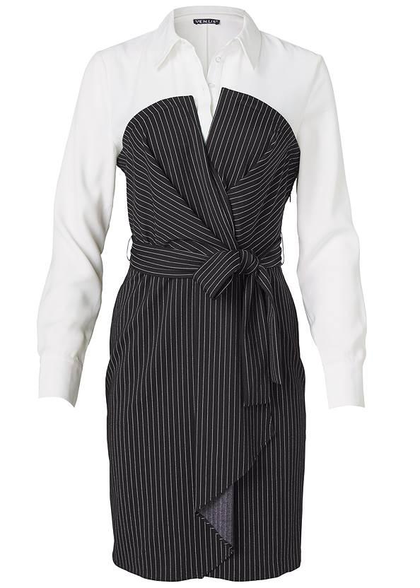 Alternate View Pinstripe Dress