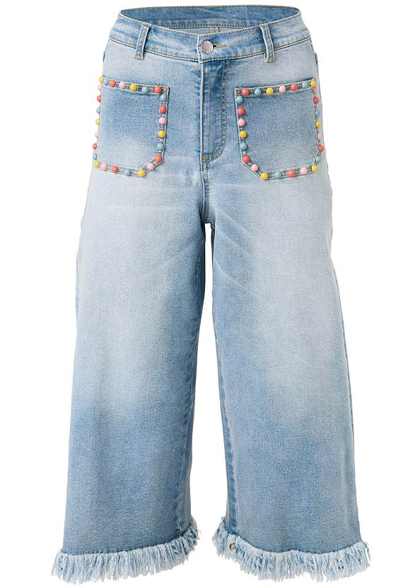 Alternate View Pocket Detail Jeans